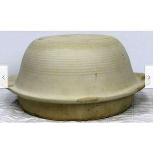 2pc Pampered Chef Baking Bowl Sassafras Round Bake